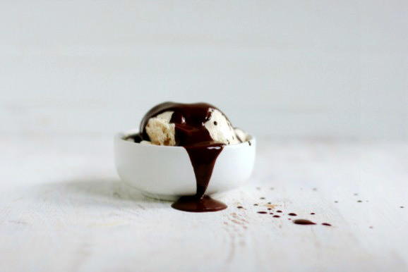 Recipe: No-Churn Peanut Butter Ice Cream with Chocolate Magic Shell