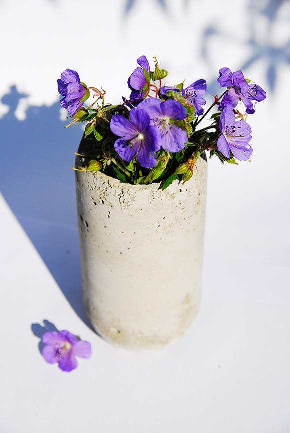 DIY Concrete Vase