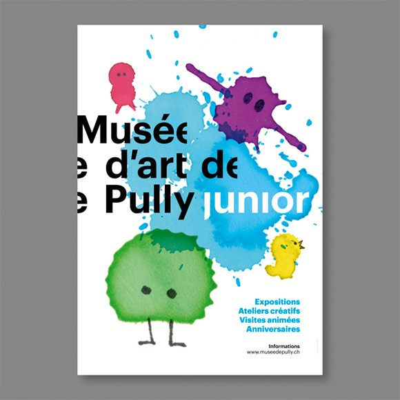 Poster Series for the Musée d'Art de Pully