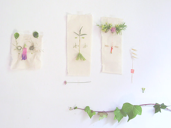 DIY Folk Art Nature Embroidery