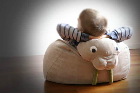 Walrus Bean Bag by Il Saccatto on Etsy
