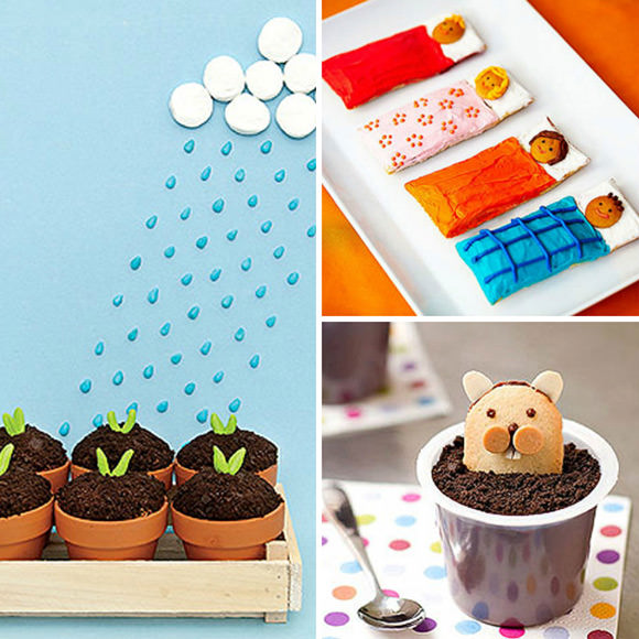 Cute Food for Kids via FamilyFun Magazine