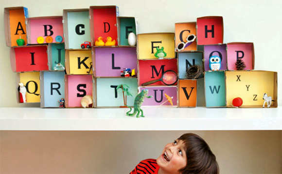 Back-To-School DIY: Build an alphabet museum to let your child associate letters an objects