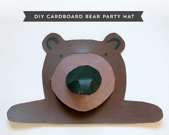 DIY Recycle Cereal Box Party Hat