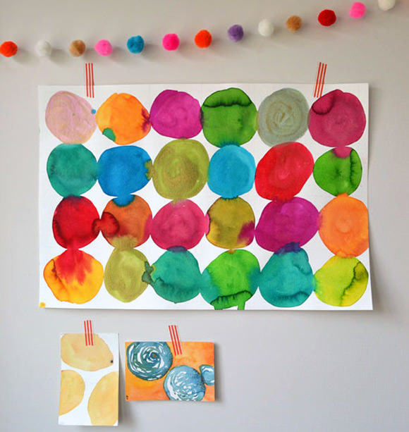 6 awesome diy watercolor projects handmade charlotte for Epic diy projects