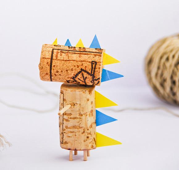 Cork Animals: Handmade Charlotte