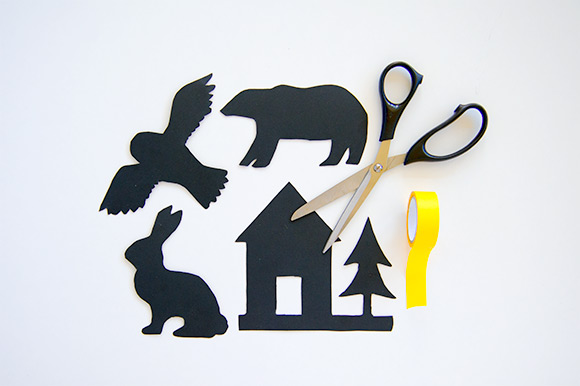 DIY Printable Shadow Puppet Bedtime Stories