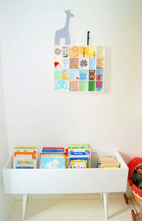 ;DIY Book Bin for Kids (made from a drawer)