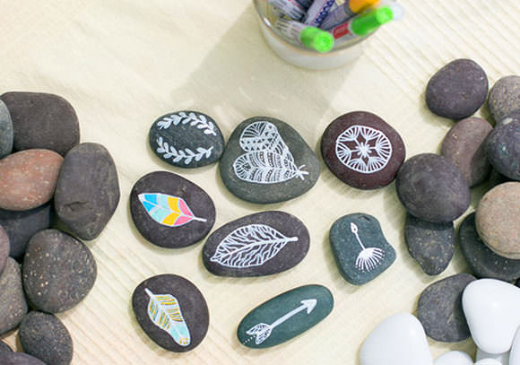 7 Creative Ways To Decorate Rocks ⋆ Handmade Charlotte