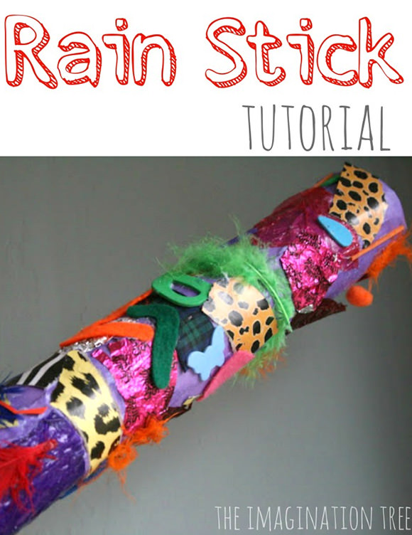 DIY Rain Stick Tutorial