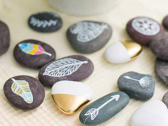 DIY岩石装饰