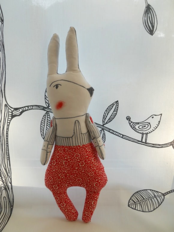 Handmade Rabbit from Woolly Soup
