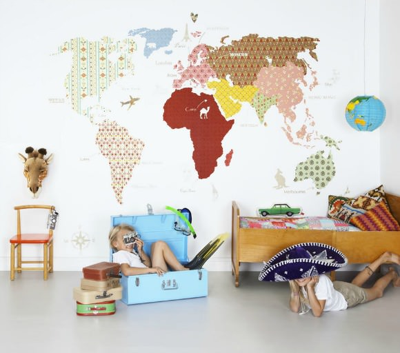 Whole Wide World Wallpaper by Mr Perswall