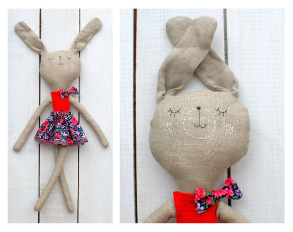 Handmade Bunny from Elitsa Sarbinova