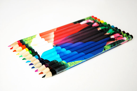 DIY Photographic Pencils // via photojojo