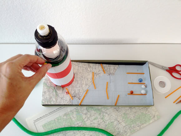 DIY Lighthouse Marble Run