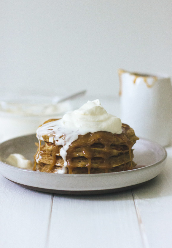 Recipe: Caramel Apple Pancakes