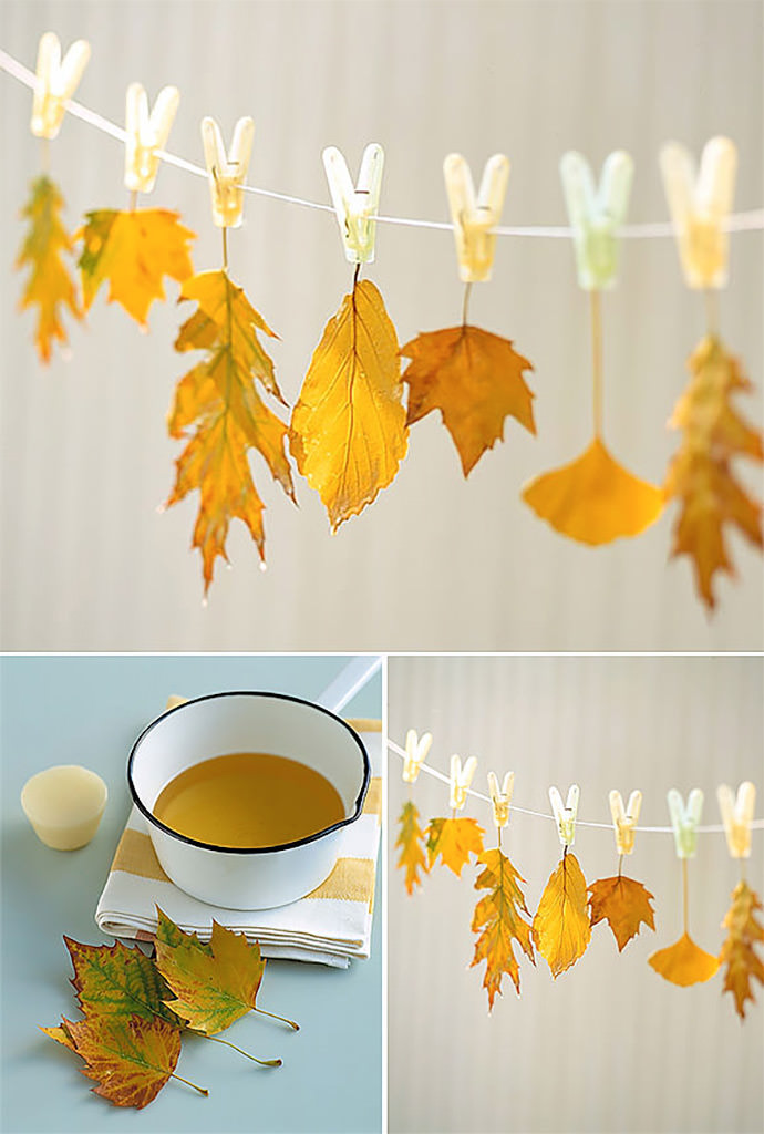 7 ways to turn your fall leaf collection into art handmade charlotte