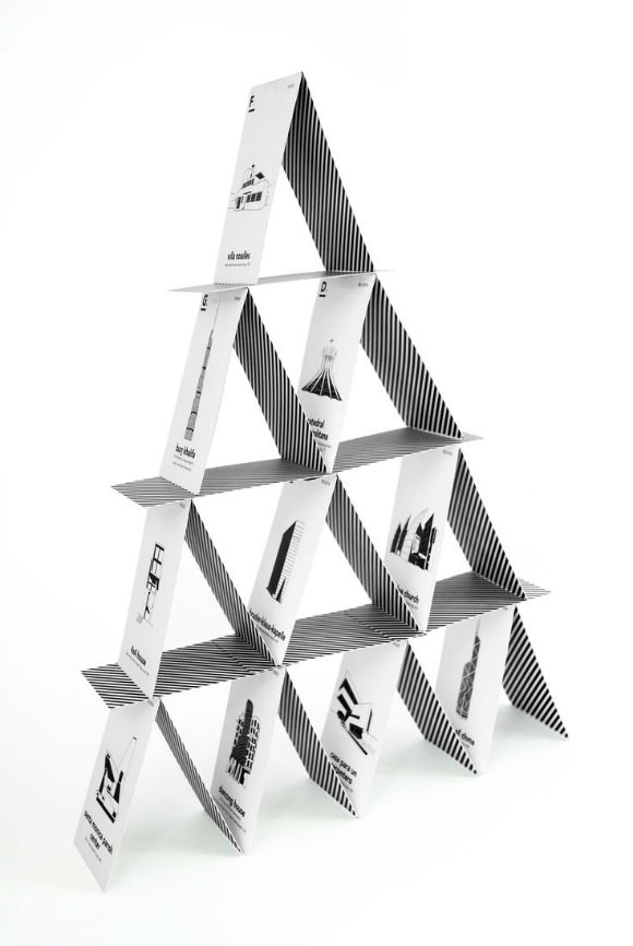 Iconic Architecture Card Game by Cinqpoints