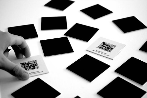 Identic Architecture Memory Game by Cinqpoints