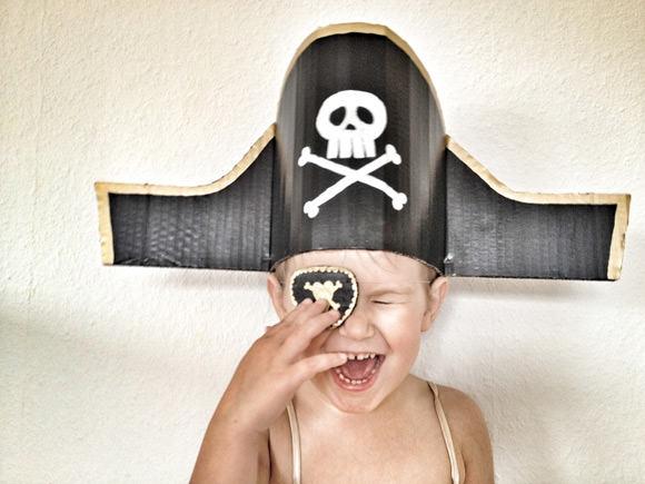 DIY Pirate Hat