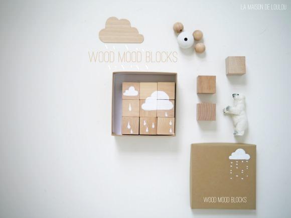 Wood Mood Blocks by La Maison de Loulou