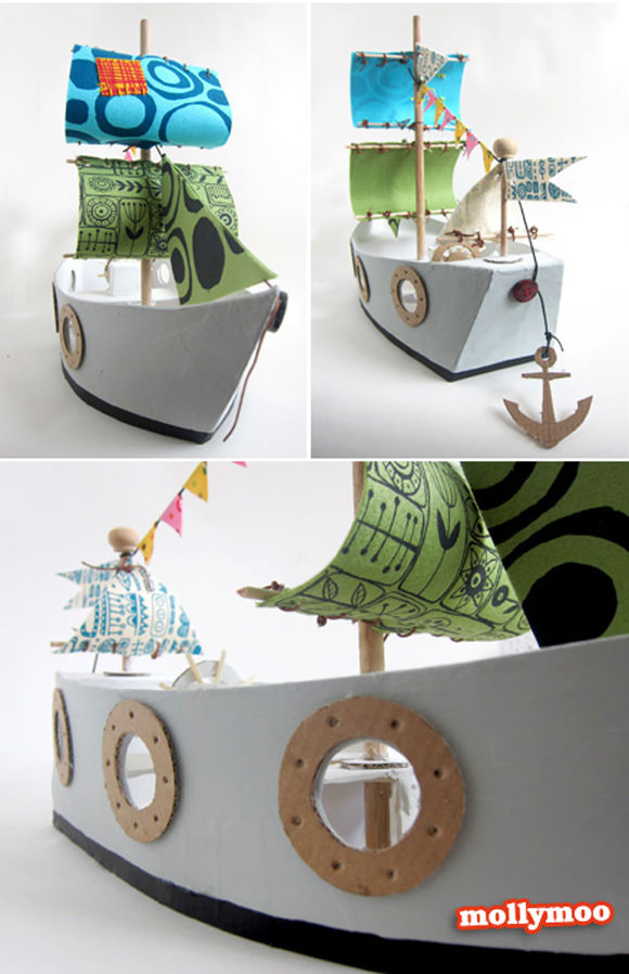 DIY Pirate Ship
