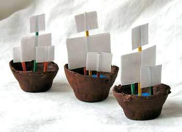 DIY Pirate Ship Craft