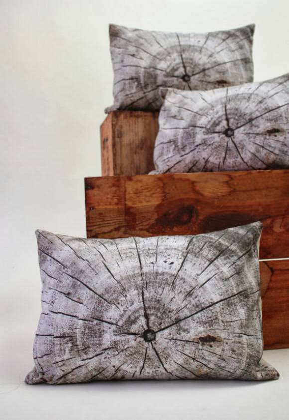 Plantillo Wood Pillow