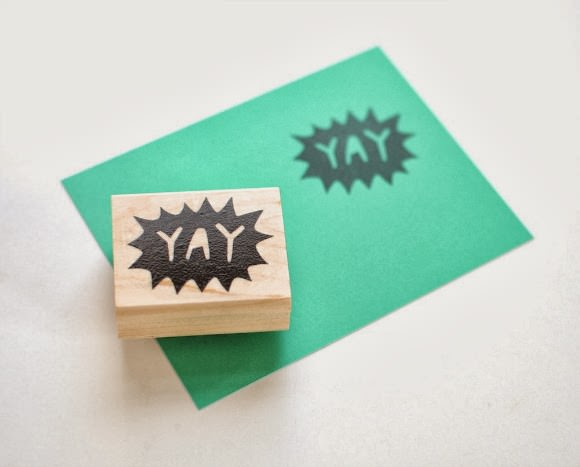 YAY Handcarved Stamp