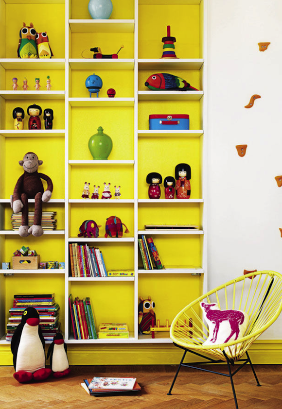 Kids Rooms: Decorating With Yellow ⋆ Handmade Charlotte