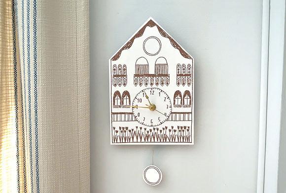 DIY Printable Cuckoo Clock ⋆ Handmade Charlotte