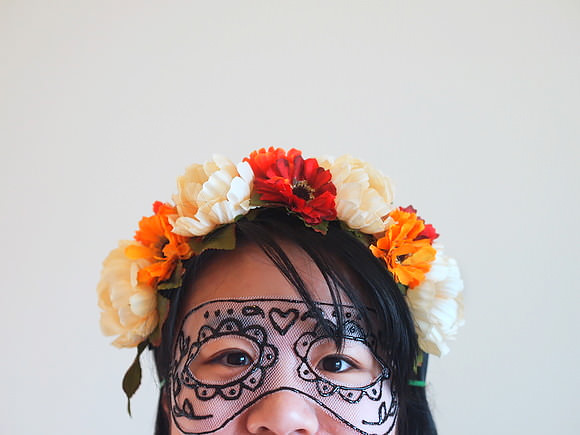 DIY Tulle Mask