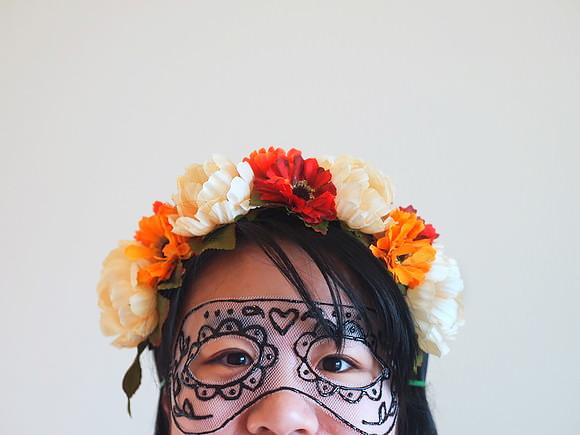 DIY Parchment Paper Mask