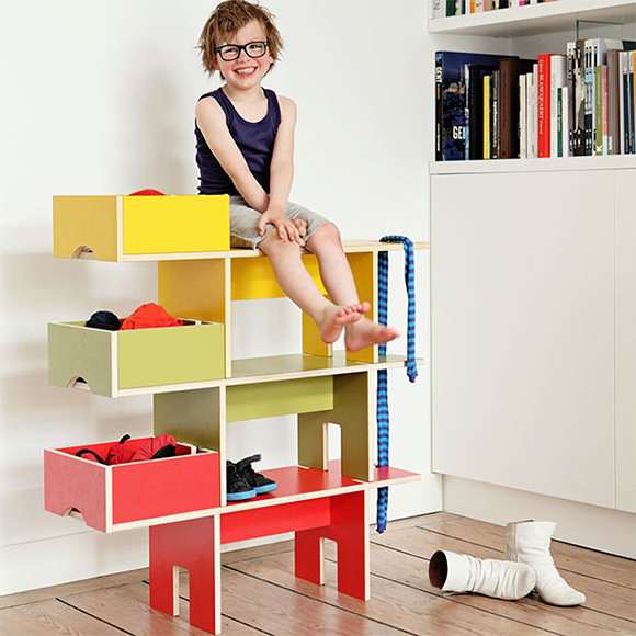 Clever Kidu0027s Room Organizers   Bobby Seat Shelf By Moupila