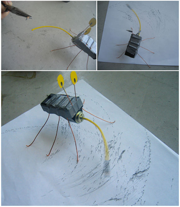 DIY Kinetic Drawing Bug