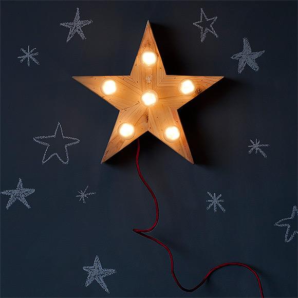 Mini Lena Star Lamp by xo-inmyroom