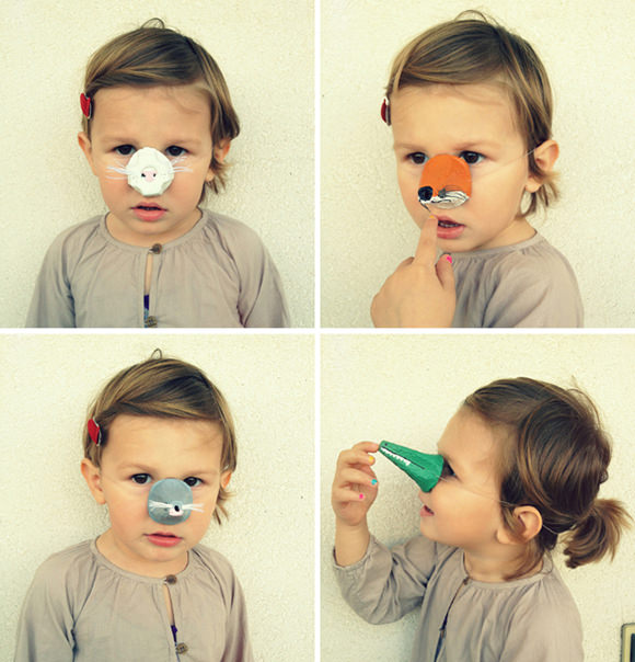 DIY Animal Noses