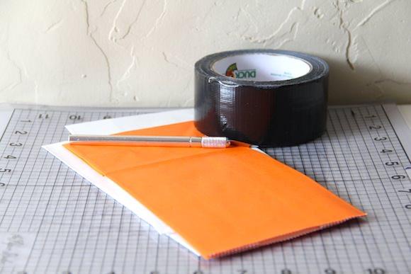 DIY Duct Tape Treat Bags