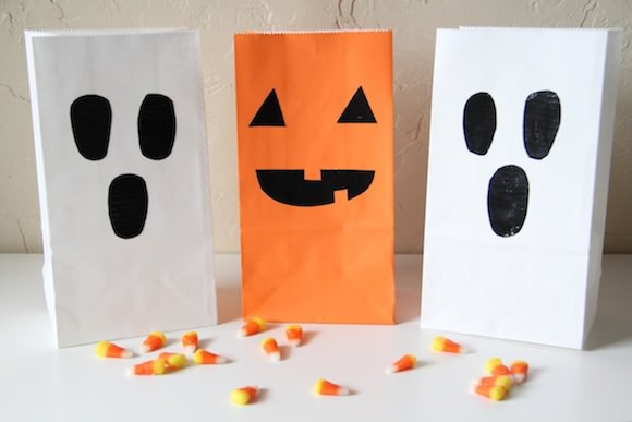 DIY Duct Tape Treat Bags