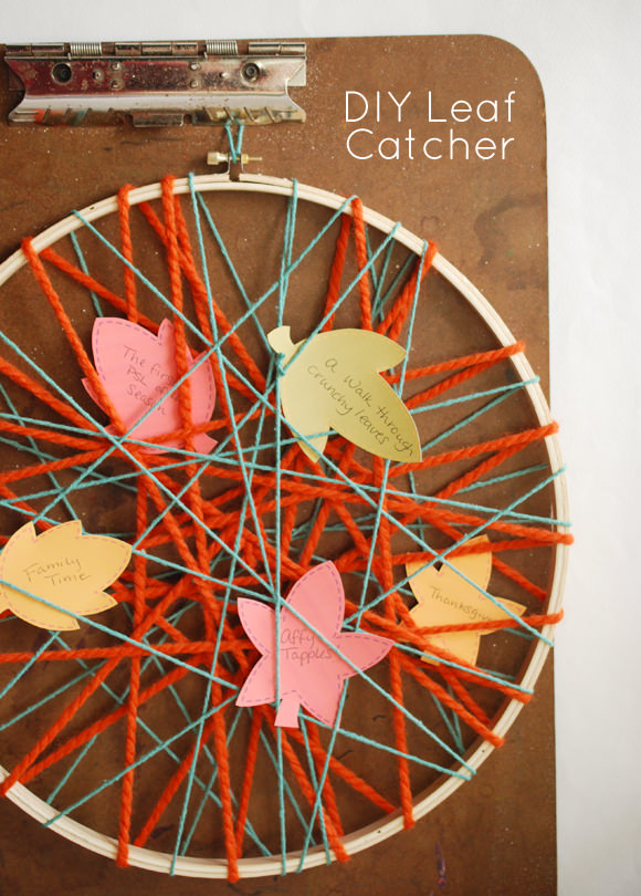 DIY Leaf Catcher