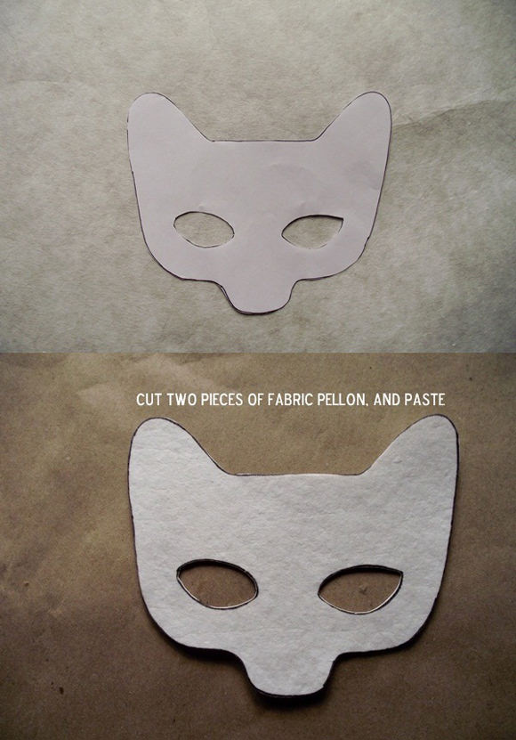 Diy fantastic mr fox costume handmade charlotte for Fantastic mr fox mask template