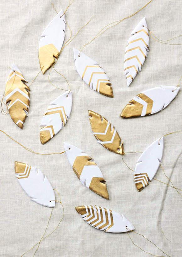 各种羽毛DIY