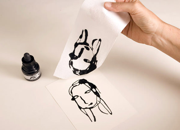 DIY Ink Drawing