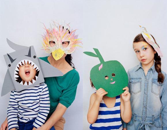 Kids Halloween Costume Mask Supplies: