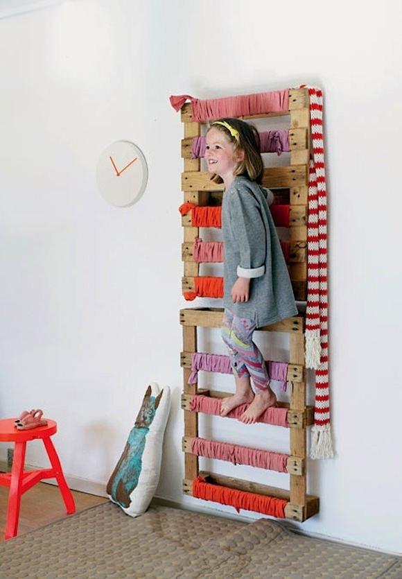 Indoor Play Ladder
