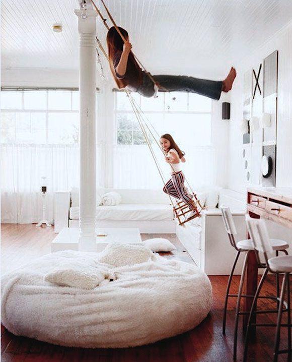 Indoor Play Swing