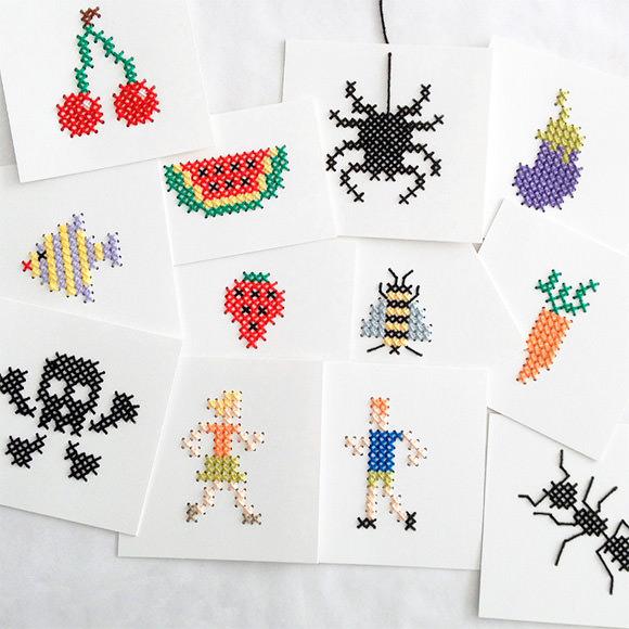 DIY Cross-Stitch Kit for Kids