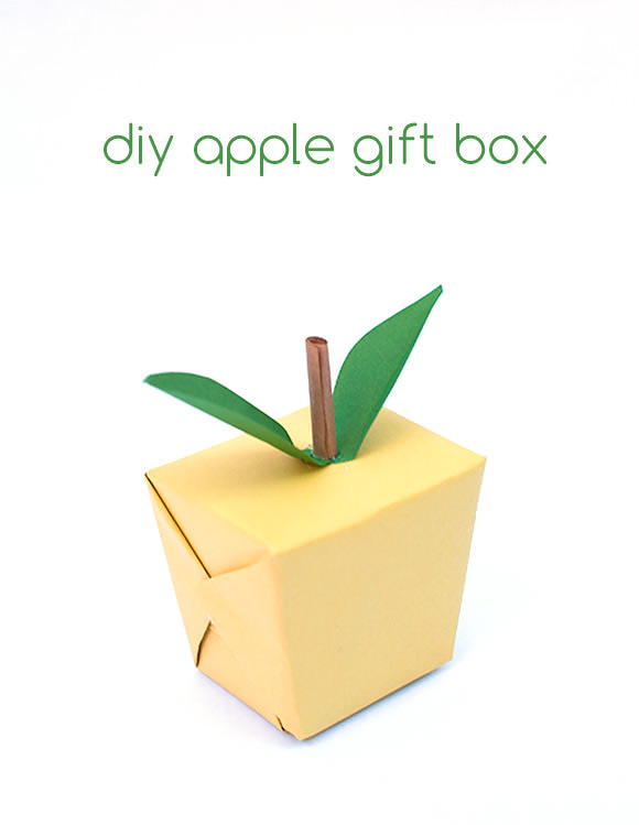 DIY Apple Gift Box