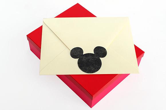 DIY Paper-Cut Disney Trip Announcement #disneyside